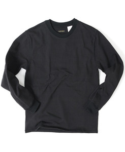 LUSTY CREWNECK SHIRTS[BLACK]
