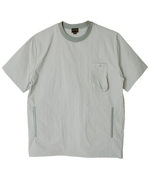 NYLON POCKET SHIRT [GRAY]