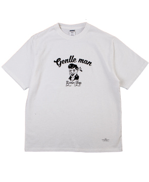 GENTLEMAN TEE [OFF WHITE]