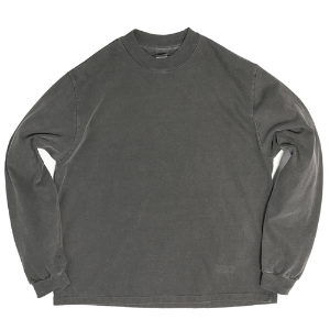 PIGMENT MOCKNECK LONG SLEEVE [CHARCOAL]