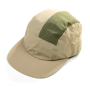 NYLON CAMP CAP [BEIGE]