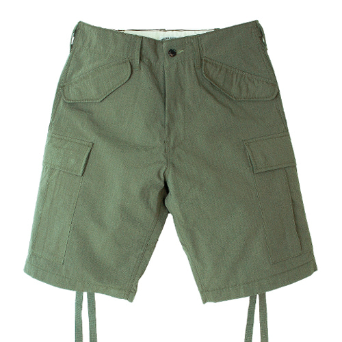 M47 RIP CARGO SHORT PANTS [OLIVE GREEN]