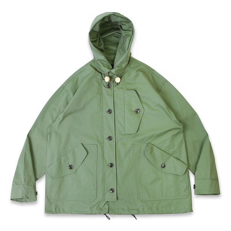 R.A.F HOODED SHORT PARKA[OLIVE GREEN]