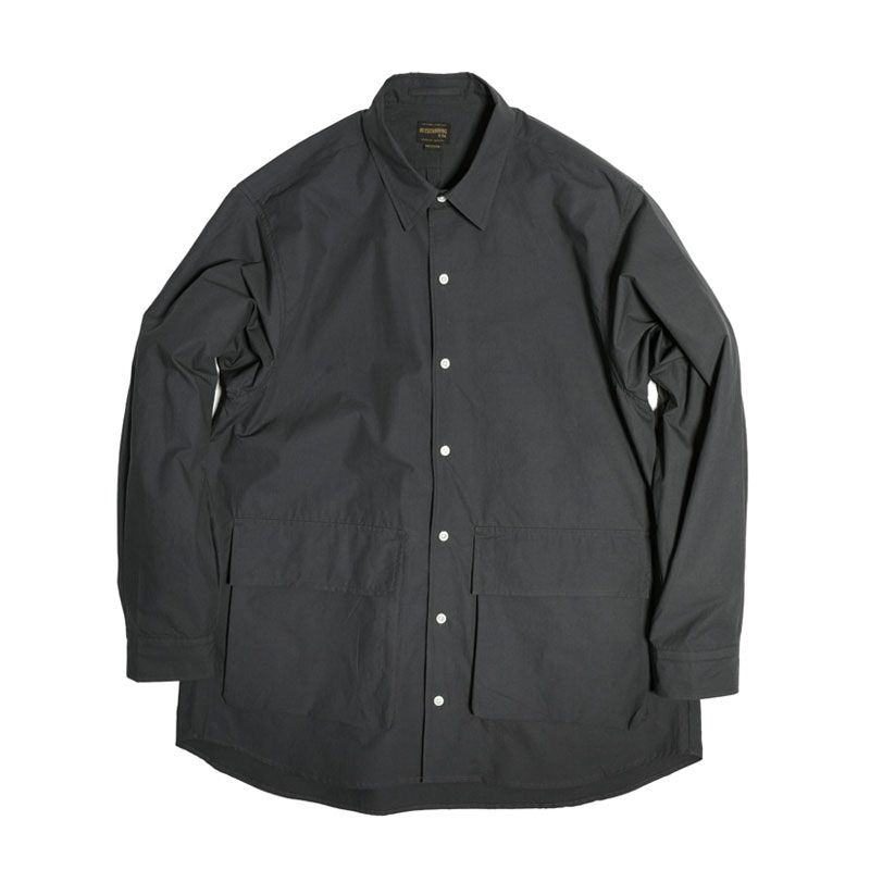 COMFORT FIT 2POCKET SHIRT [CHARCOAL]