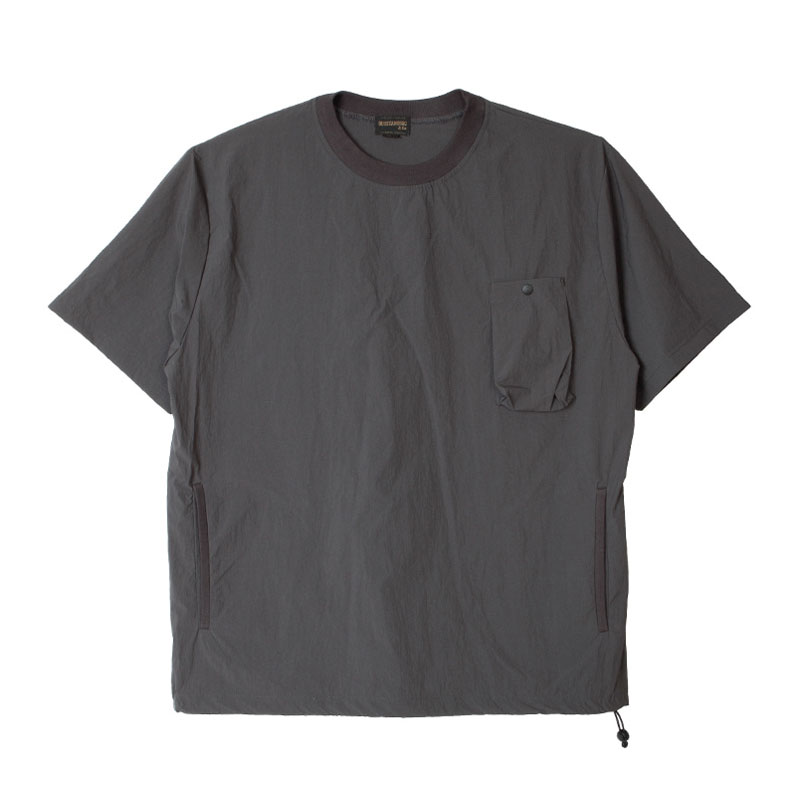 NYLON POCKET SHIRT [CHARCOAL]