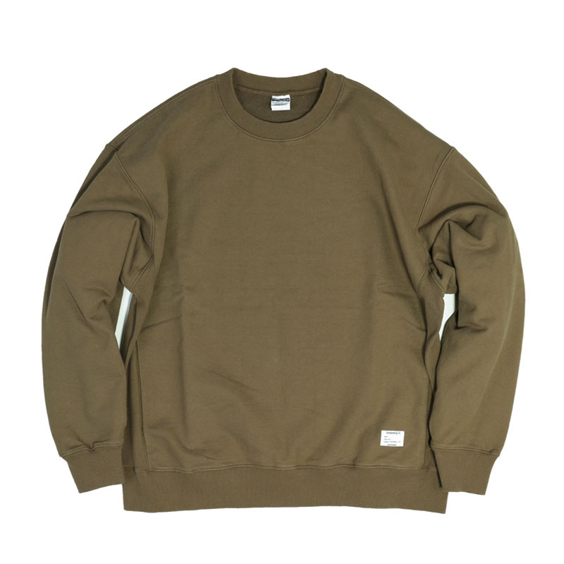 REVERSE SWEAT [KHAKI]