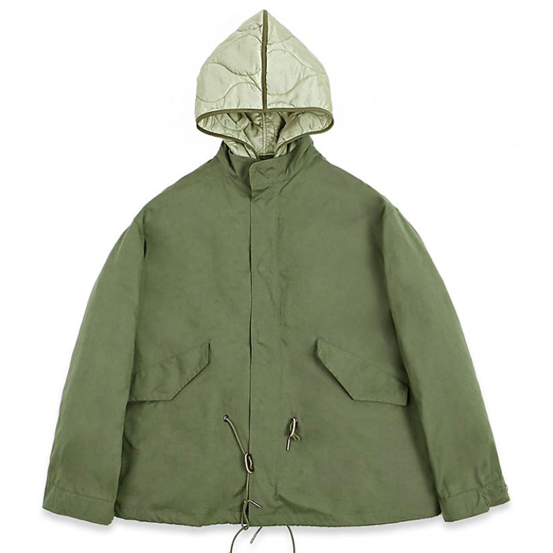 FISHTAIL SHORT PARKA [OLIVE GREEN]