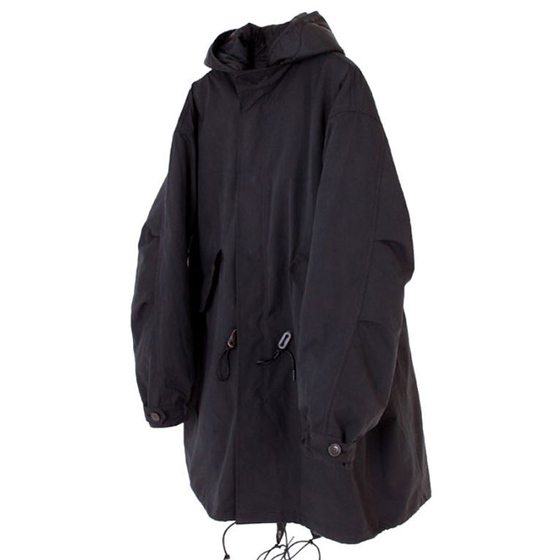 19FW FISHTAIL PARKA [BLACK]