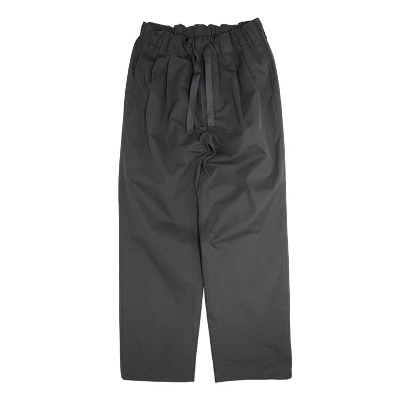 COMFORT FIT COTTON PANTS [CHARCOAL]