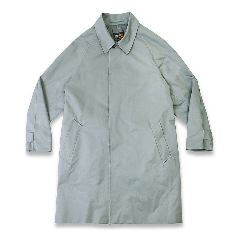 BAR COLLAR SINGLE COAT[GRAY]