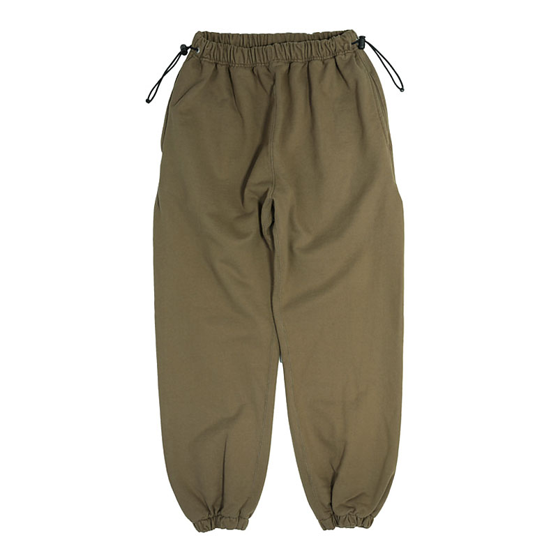 REVERSE SWEAT PANTS [KHAKI]