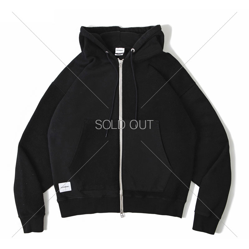 ZIP UP HOODIE PARKA [BLACK] 아웃스탠딩 컴퍼니ZIP UP HOODIE PARKA [BLACK]