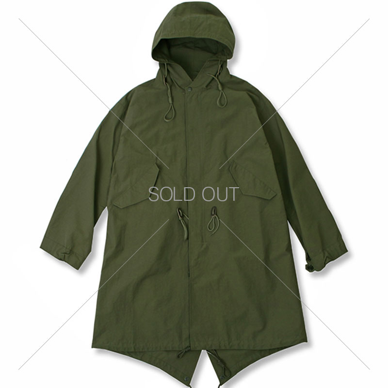 20S/S HOODED NYLON PARKA [OLIVE GREEN] 아웃스탠딩 컴퍼니20S/S HOODED NYLON PARKA [OLIVE GREEN]