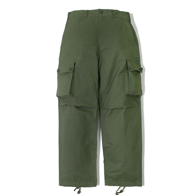 MIL BDU COTTON PANTS_OLIVE GREEN 아웃스탠딩 컴퍼니MIL BDU COTTON PANTS_OLIVE GREEN