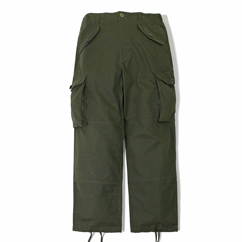 MIL COTTON ARMY PANTS_OLIVE GREEN 아웃스탠딩 컴퍼니MIL COTTON ARMY PANTS_OLIVE GREEN