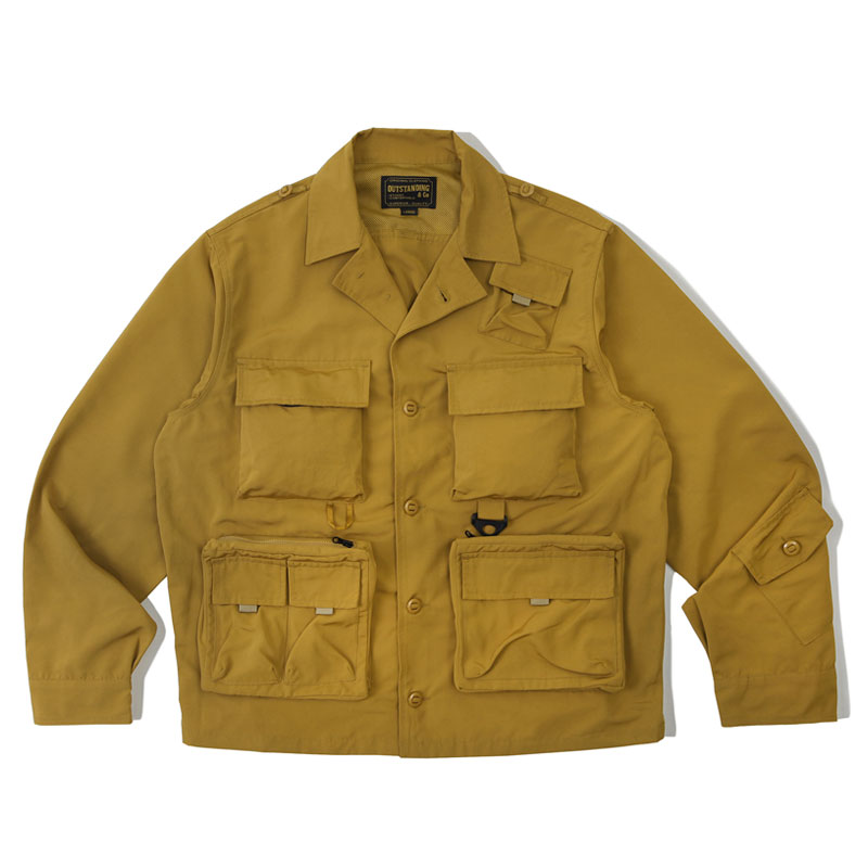 HUNTING COLLAR JACKET_BEIGE 아웃스탠딩 컴퍼니HUNTING COLLAR JACKET_BEIGE