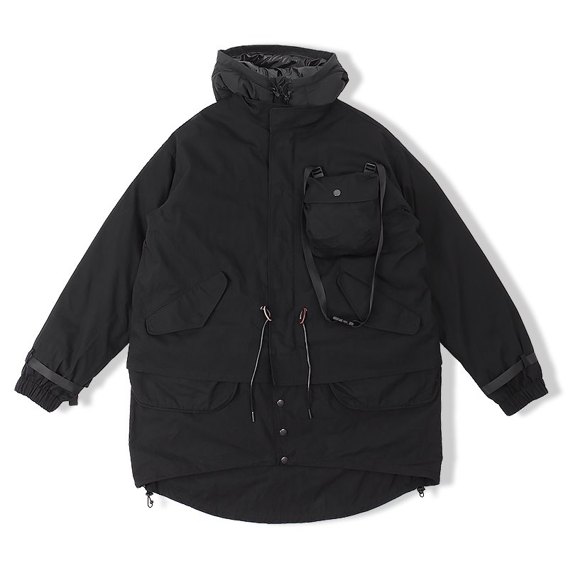 20F/W DOWN LINER PARKA_BLACK