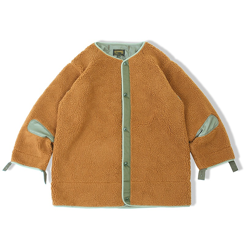 M-51 LINER BOA CARDIGAN_BROWN 아웃스탠딩 컴퍼니M-51 LINER BOA CARDIGAN_BROWN