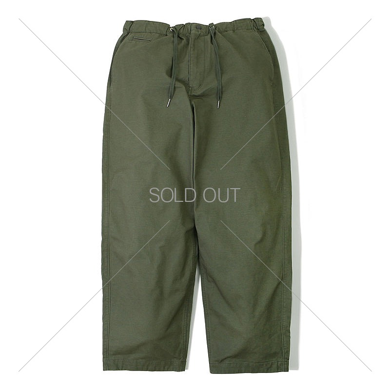 COTTON STRING PANTS_OLIVE GREEN 아웃스탠딩 컴퍼니COTTON STRING PANTS_OLIVE GREEN